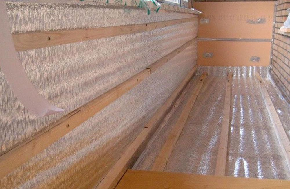 Примеры утепления балконов по адресу улица водников, 2с16 - .