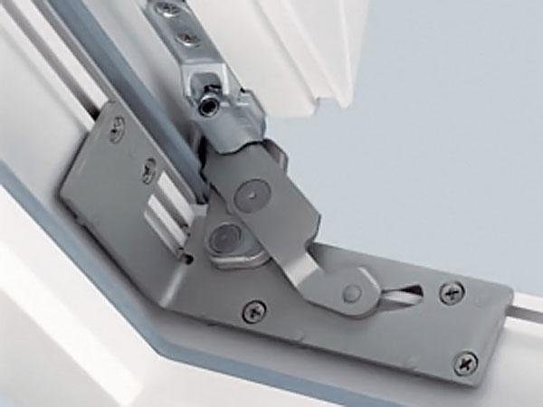 Замена стандартного механизма на раздвижной - окнасервис.