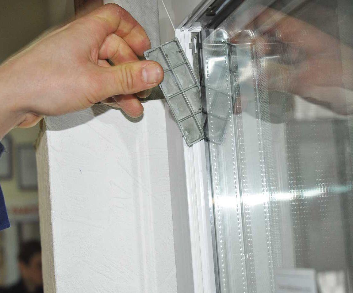 Как снять стекло из пластикового окна своими руками 602